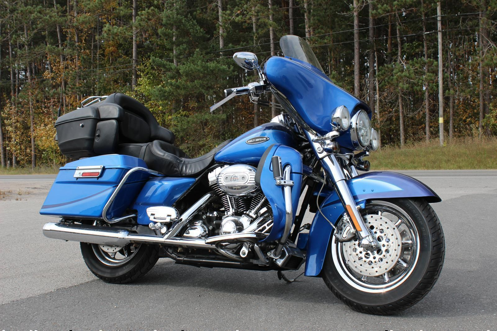 harley davidson cvo ultra classic 2007 used motorcycle for sale in lakefield ontario. Black Bedroom Furniture Sets. Home Design Ideas