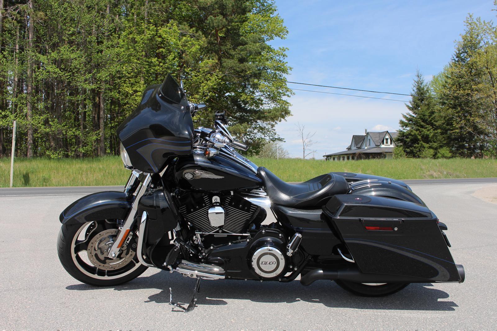 harley davidson road king 2013 used motorcycle for sale in lakefield ontario. Black Bedroom Furniture Sets. Home Design Ideas