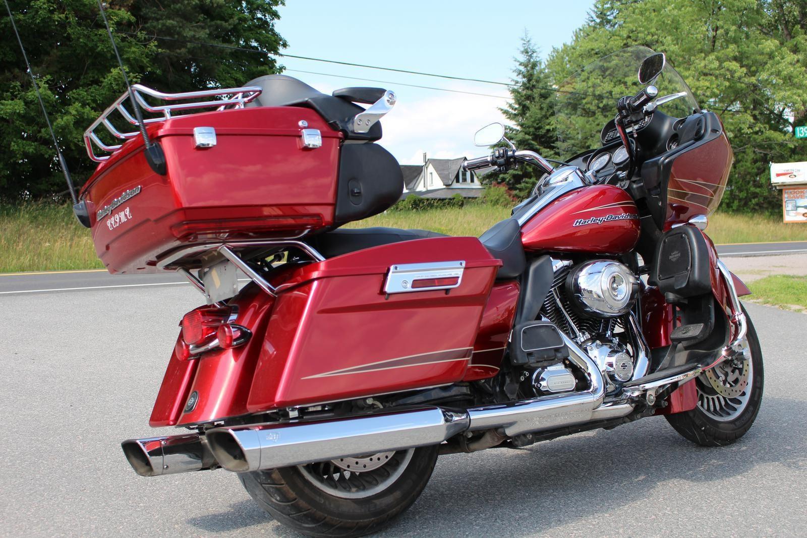 harley davidson fltru road glide ultra 2012 used motorcycle for sale in lakefield ontario. Black Bedroom Furniture Sets. Home Design Ideas