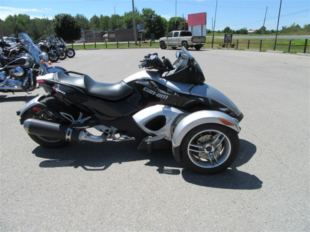 can am spyder gs sm5 2008 used motorcycle for sale in lakefield ontario. Black Bedroom Furniture Sets. Home Design Ideas