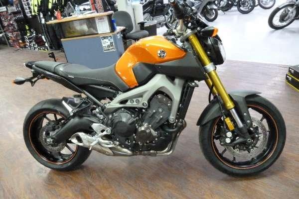 Yamaha fz 09 2014 used motorcycle for sale in fenwick for Used 2014 yamaha fz 09 for sale