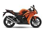 Honda CBR300R ABS Candy Orange / Matte Black 2016