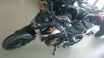 Honda CB500F Matte Black Metallic 2016