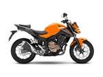 Honda CB500F Candy Orange 2016