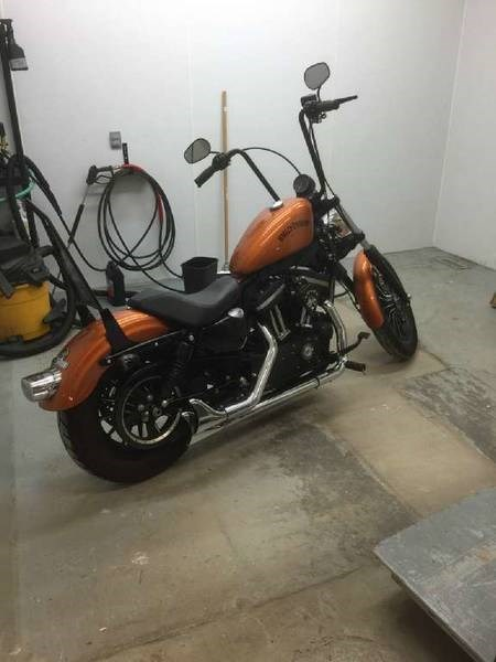 2014 Harley-Davidson XL883N - Sportster® Iron 883™ Photo 2 of 3