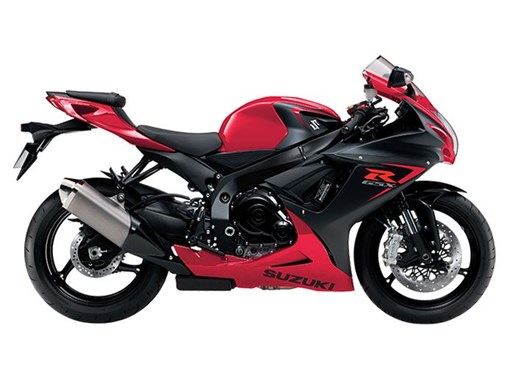 2016 Suzuki GSX-R600 - Red Photo 1 of 1