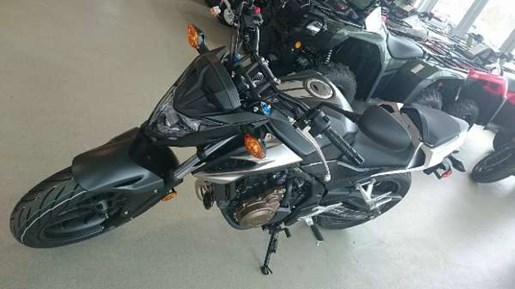 2016 Honda CB500F Matte Black Metallic Photo 1 of 3