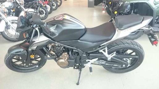 2016 Honda CB500F Matte Black Metallic Photo 3 of 3