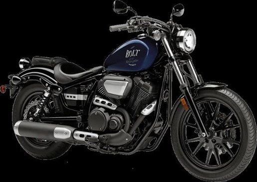 2016 Yamaha Bolt Purplish Blue Metallic Photo 2 of 4