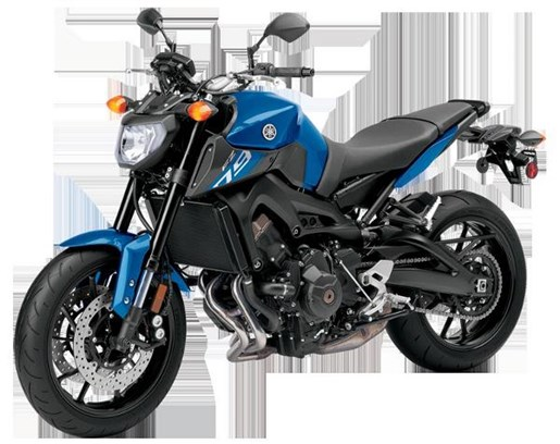 yamaha fz 09 vivid purplish blue 2016 used motorcycle for sale in cambridge ontario. Black Bedroom Furniture Sets. Home Design Ideas