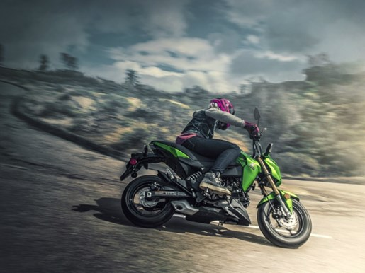 2017 Kawasaki Z125 PRO Photo 4 of 4
