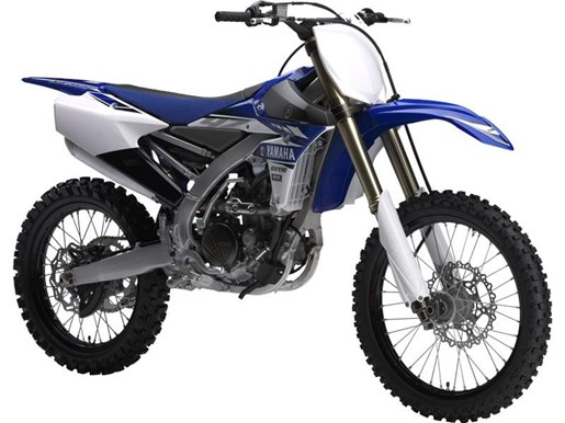 2017 Yamaha YZ250F Yamaha Racing Blue Photo 1 of 1