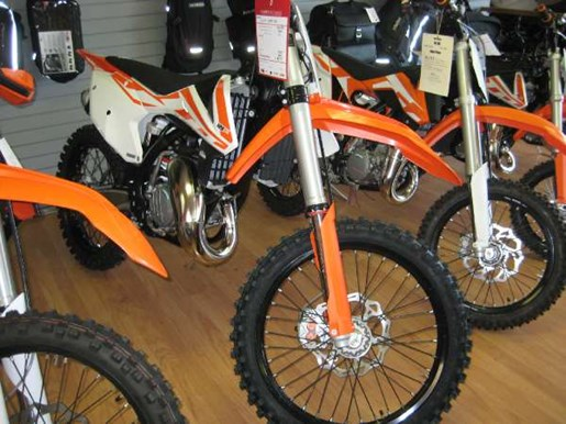 2017 KTM 125 SX Photo 1 of 4