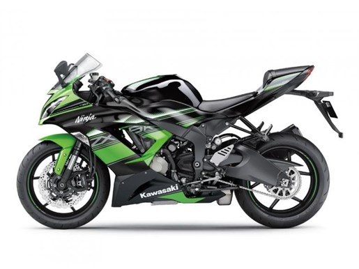 2016 Kawasaki Ninja ZX-6R KRT Photo 1 of 1