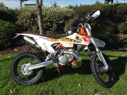 ktm 300 xc w six days 2017 new motorcycle for sale in langley serving greater vancouver. Black Bedroom Furniture Sets. Home Design Ideas