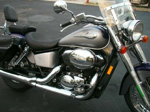 2002 Honda Shadow Ace 750 Deluxe Photo 2 of 25