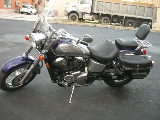 2002 Honda Shadow Ace 750 Deluxe Photo 8 of 25