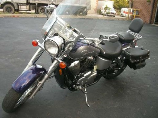 2002 Honda Shadow Ace 750 Deluxe Photo 10 of 25