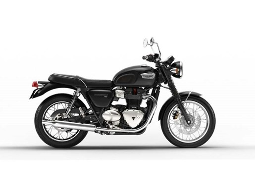 2017 Triumph Bonneville T100 Jet Black Photo 1 of 1
