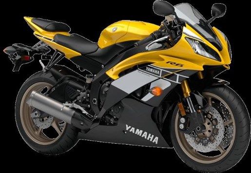 2016 Yamaha YZF-R6 60th Anniversary Yellow / Black Photo 2 of 4