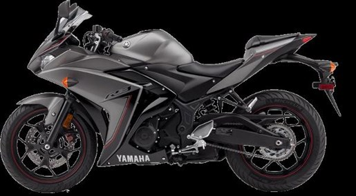 2016 Yamaha YZF-R3 Matte Metallic Gray Photo 4 of 4