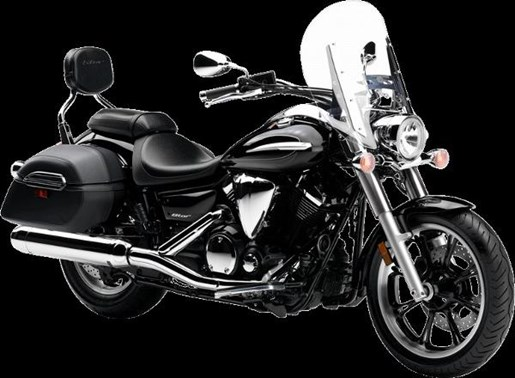 2016 Yamaha V-Star 950 Tourer Metallic Black Photo 2 of 4