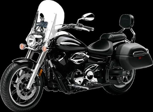 2016 Yamaha V-Star 950 Tourer Metallic Black Photo 3 of 4