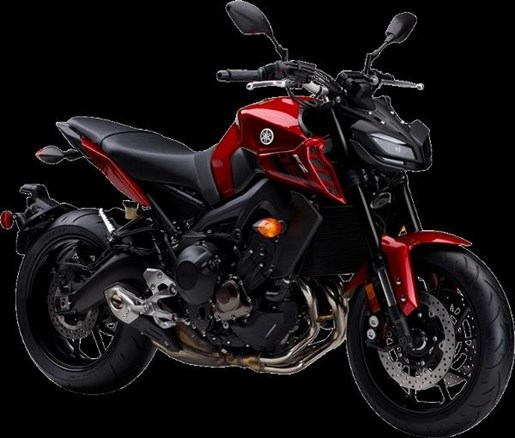 2017 Yamaha FZ-09 ABS Deep Metallic Red Photo 2 of 4