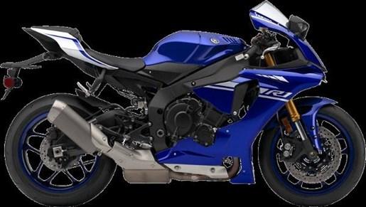 2017 Yamaha YZF-R1 ABS Deep Purplish Metallic Blue Photo 1 of 4