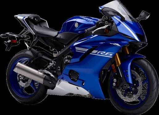 2017 Yamaha YZF-R6 ABS Yamaha Blue Photo 2 of 4