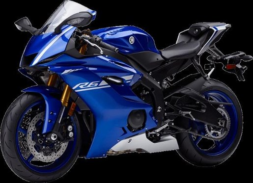 2017 Yamaha YZF-R6 ABS Yamaha Blue Photo 3 of 4