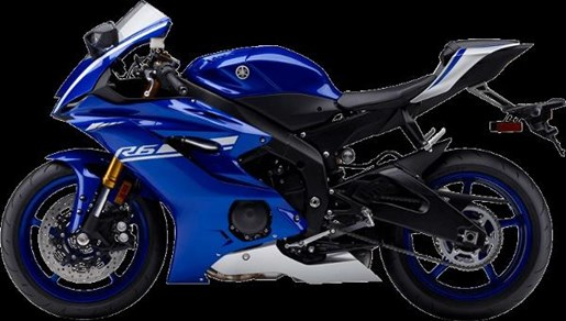 2017 Yamaha YZF-R6 ABS Yamaha Blue Photo 4 of 4