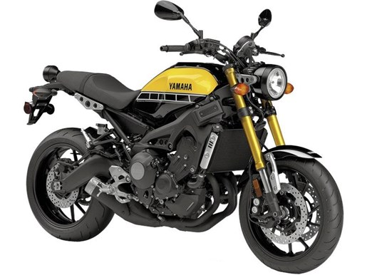 2016 Yamaha XSR900 60th Anniversary Yellow / Black Photo 1 of 1
