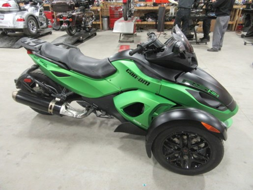 can am spyder rs s se5 2012 occasion moto vendre au lakefield ontario. Black Bedroom Furniture Sets. Home Design Ideas