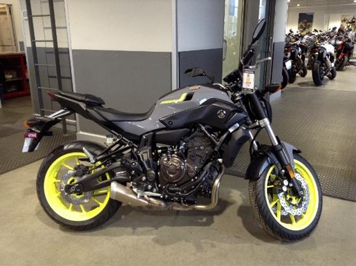 yamaha fz 07 bluish grey 2017 new motorcycle for sale in langley serving greater vancouver. Black Bedroom Furniture Sets. Home Design Ideas