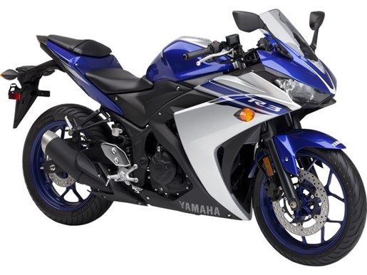 Yamaha yzf r3 yamaha blue 2016 new motorcycle for sale in for Yamaha motorcycles dealers near me