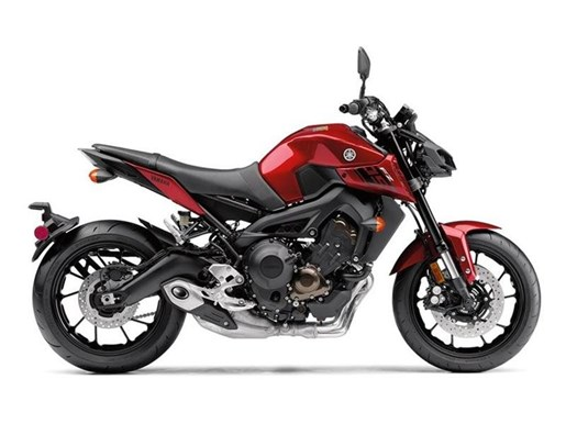 2017 Yamaha FZ-09 Candy Red Photo 1 of 1