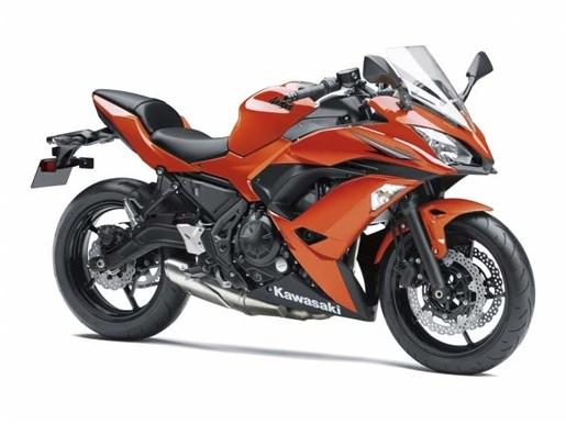 2017 Kawasaki Ninja 650 ABS Candy Burnt Orange Photo 1 of 1