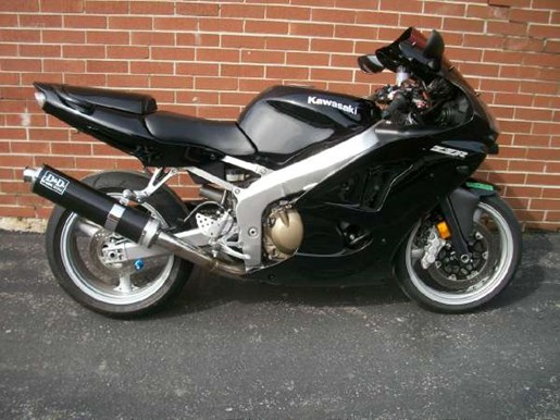 2007 Kawasaki ZZR600 Photo 1 of 16