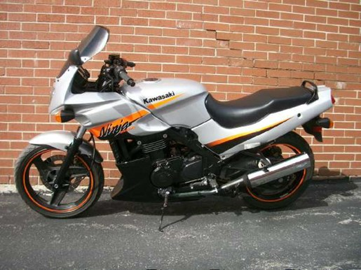 kawasaki ninja 500r 2004 used motorcycle for sale in toronto ontario. Black Bedroom Furniture Sets. Home Design Ideas