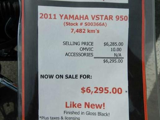 2011 Yamaha V-Star 950 Photo 2 of 17