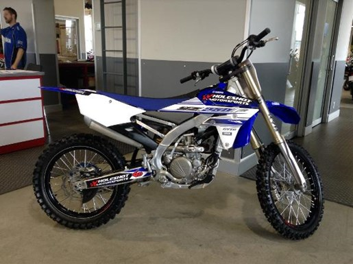 Yamaha yz250f yamaha blue 2016 used motorcycle for sale in for Yamaha yz250f for sale