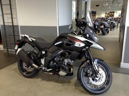 suzuki v strom 1000xt abs black 2018 new motorcycle for. Black Bedroom Furniture Sets. Home Design Ideas