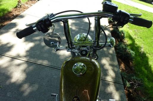 2013 Harley-Davidson XL1200V Sportster 72 Photo 4 of 4