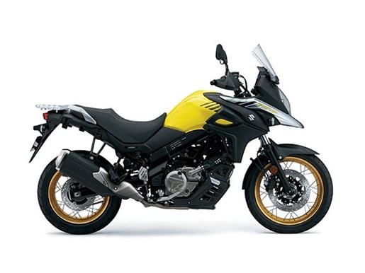 2017 Suzuki V-Strom 650XT ABS - Yellow Photo 1 of 1
