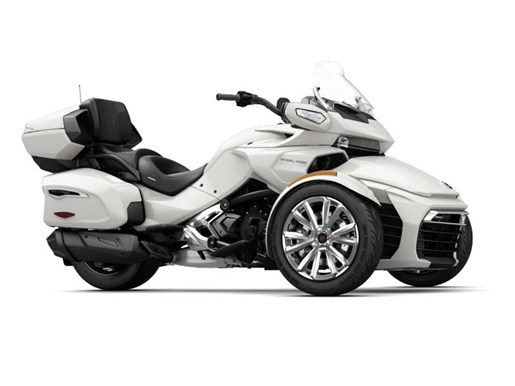can am spyder f3 limited pearl white 2017 new motorcycle for sale in mount pearl newfoundland. Black Bedroom Furniture Sets. Home Design Ideas
