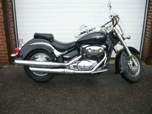 2005 Suzuki Boulevard C50 Black Photo 1 of 8