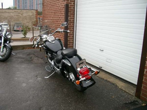 2005 Suzuki Boulevard C50 Black Photo 6 of 8