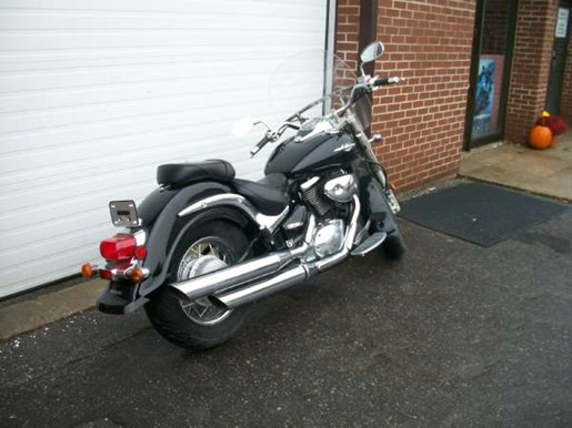 2005 Suzuki Boulevard C50 Black Photo 8 of 8