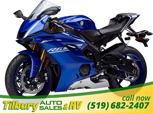 2017 Yamaha YZF-R6 ABS Photo 1 of 4